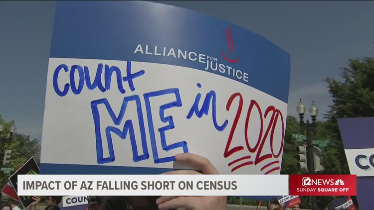 Why did Arizona fall short on the Census?