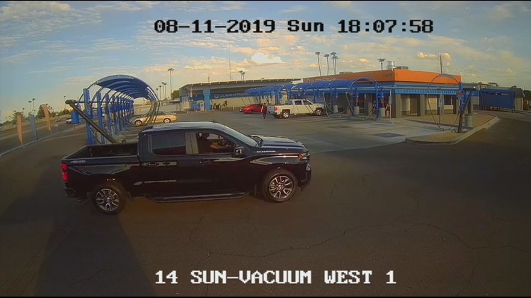 Video shows woman running from man before he forces her into pick-up truck