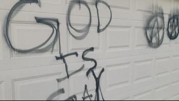Ahwatukee homeowner believes Nativity scene prompted 'God Is Gay' vandalism