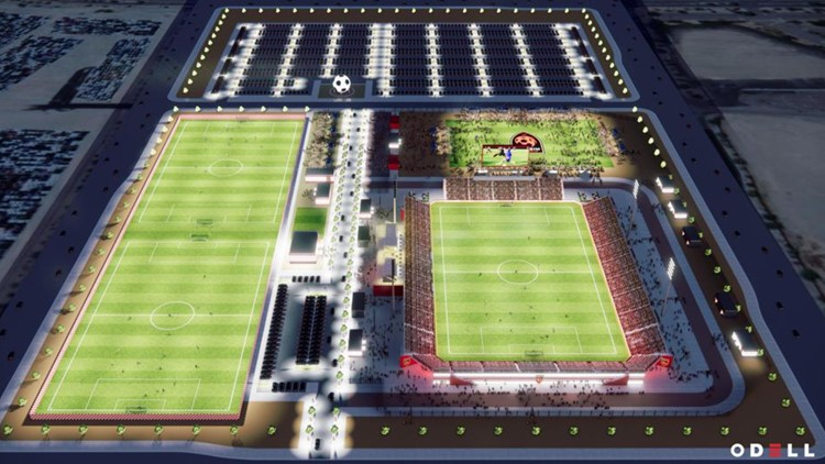 Phoenix Rising FC unveils new home at Wild Horse Pass