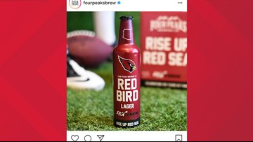 'Drink up, Red Sea': Four Peaks Brewing Co. brews Arizona Cardinals-themed beer