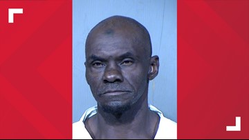 Man arrested after stabbing two people in Phoenix Friday