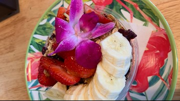 Woman overcomes obstacles to open her acai bowl shop