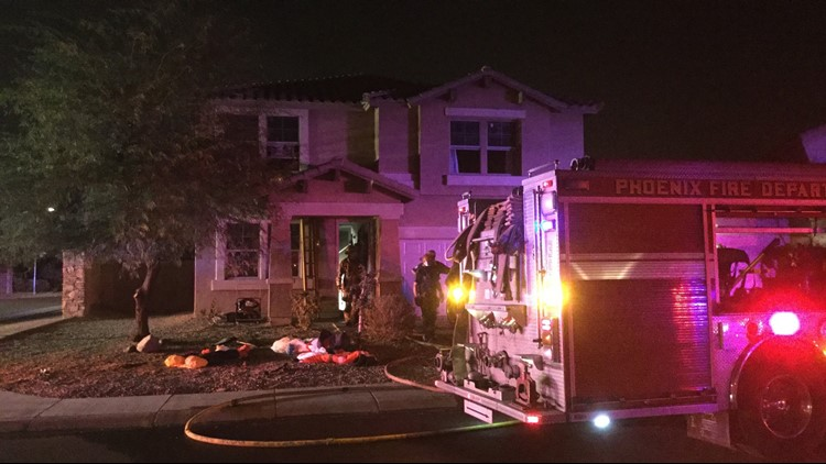 Phoenix Fd Boy Burned In House Fire Caused By Christmas Tree
