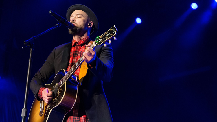 """One lucky 12 News viewer will win a pair of tickets to see Justin Timberlake's """"The Man of the Woods"""" tour stop in Phoenix."""