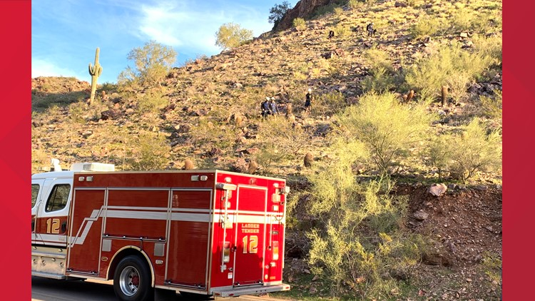 Phoenix Fire hiker rescue