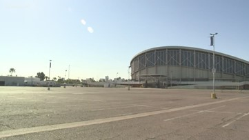 Veteran's Memorial Coliseum in Phoenix could become medical shelter