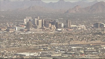 This has been one of Phoenix's coolest May months in the last 30 years