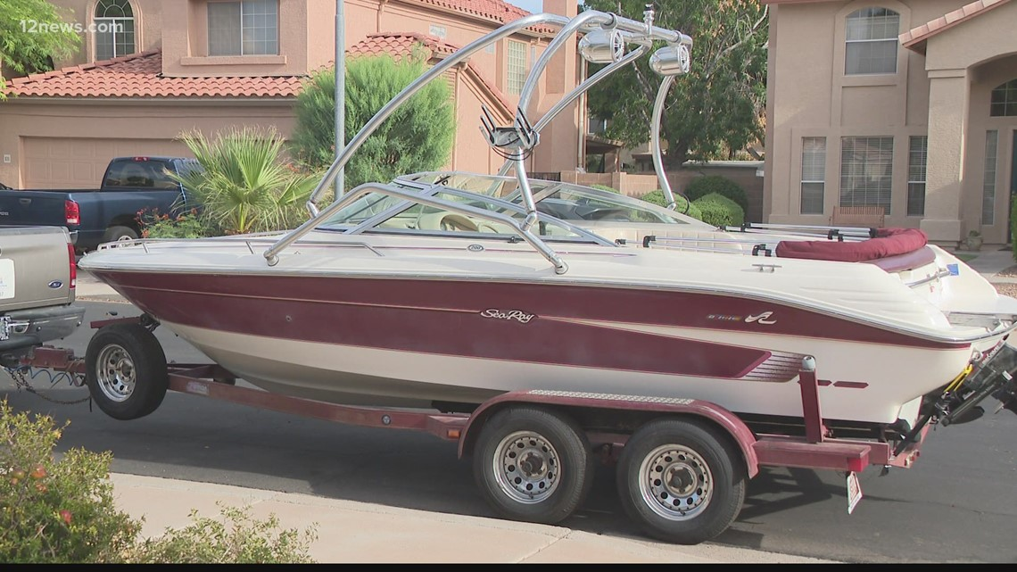 Community comes together to help Valley family recover stolen boat