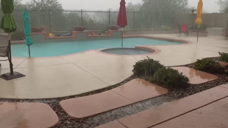 Rain in Anthem