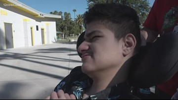 Valley teen who had adaptive bike stolen from backyard gets replacement