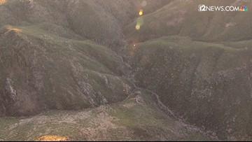 RAW: Plane crash in Mazatzal Mountains near Payson