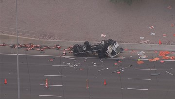 DPS: 1 person killed in hit-and-run crash that shut down US 60 near Mesa