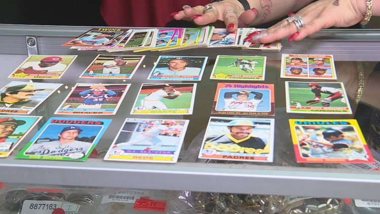 baseball cards safety deposit box auction