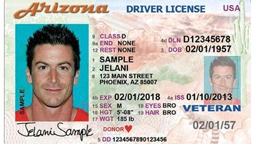 Arizona DOT isn't penalizing drivers for not updating license photo