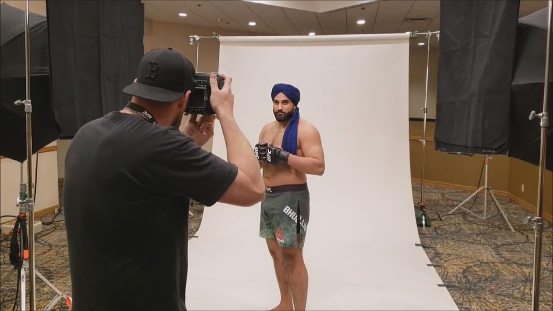 Sikh MMA athlete fights his opponent and prejudice, making history in the process