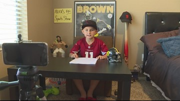 9-year-old's 'Alex's Epic Sports Show' covers everything Cardinals