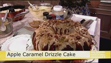 Jan's Apple Caramel Drizzle Cake