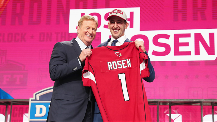 Rosen on No. 10 pick: 'There were 9 mistakes ahead of me'