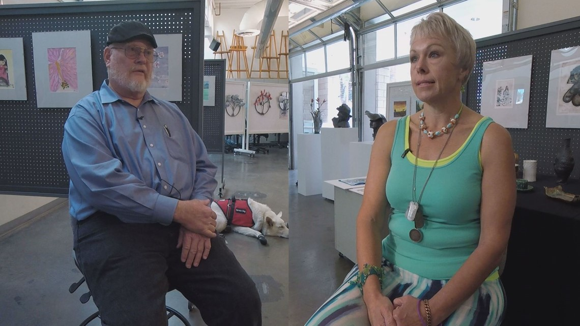 Those Who Serve: Arts program helping vets reconnect