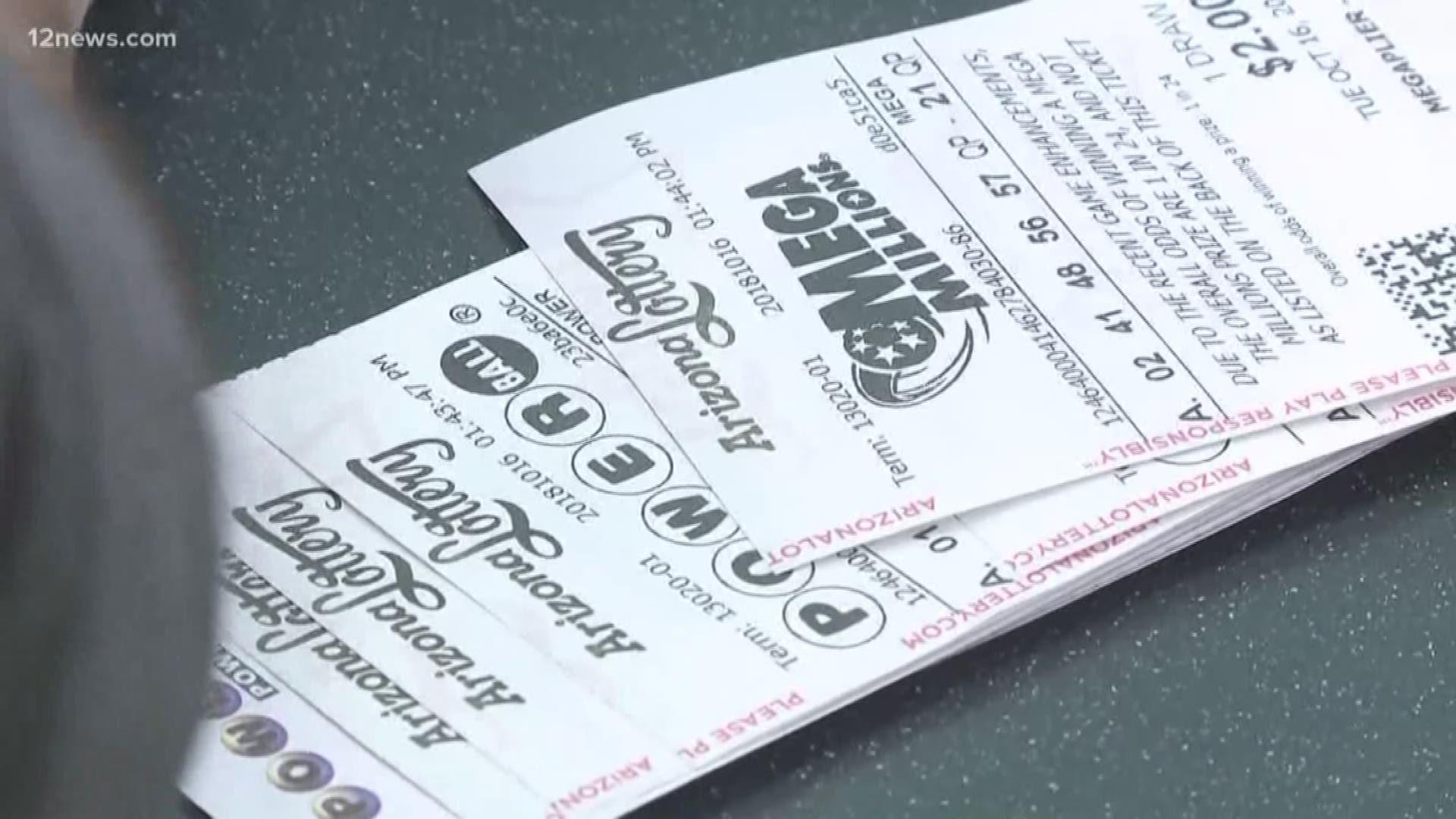 410 Million Mega Millions Ticket Sold In Arizona 12news Com