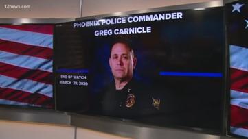 Family mourns fallen Phoenix commander shot, killed on Sunday