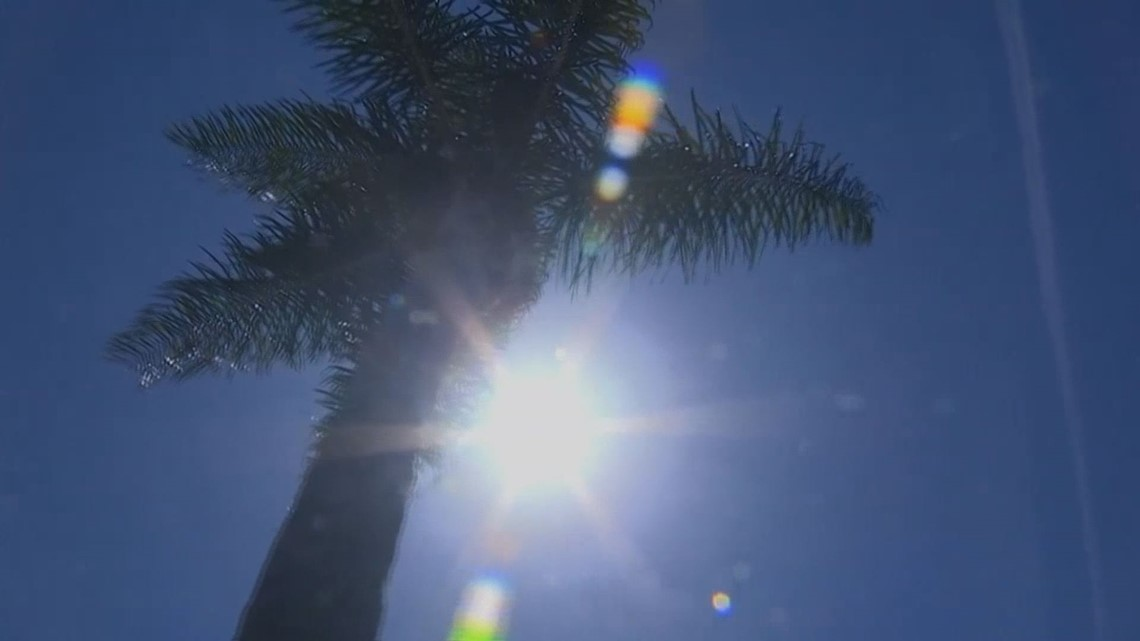 Heat relief stations active, Lyft offers free rides as temps soar to record-breaking territory