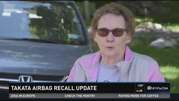 Takata airbag recall update