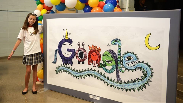 Arizona student among the finalists for Doodle 4 Google competition