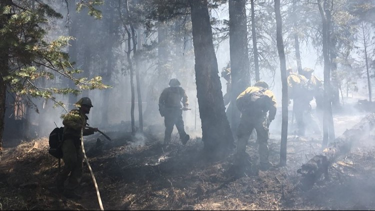 The Bluff Fire gave some residents a scare, but thankfully they may return home now.