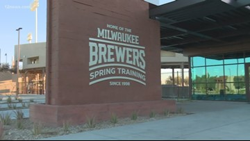 Brewers reveal their new field in Maryvale