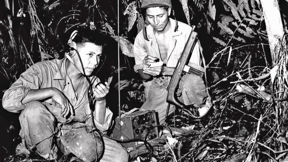 PHOTOS: Honoring the Navajo Code Talkers