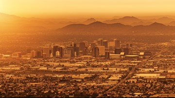 Phoenix hits 116 degrees Tuesday, making it the hottest day of 2018