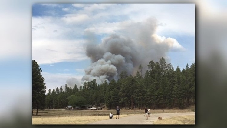 Summit County wildfire breaks out in Buffalo Mountain area