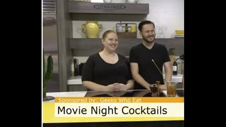 Matthew and Sarah Stubbs of Geeks Who Eat shows us how to make the perfect cocktail to complement the movie SICARIO: Day of the Soldado.
