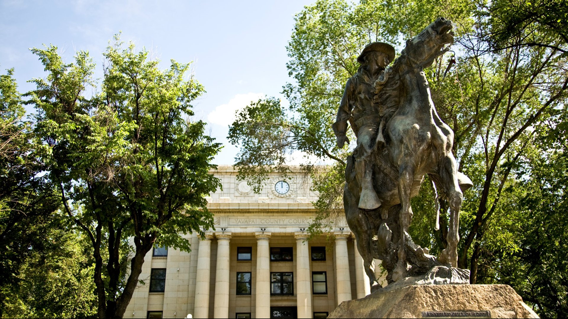 The Yavapai County Courthouse is the 'crown jewel' of