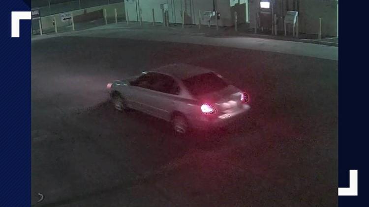 suspect car buckeye vandalism