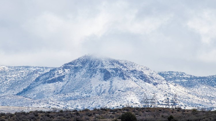 Here's when and where you can expect the heaviest snow, rain from Arizona's big winter storm