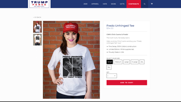 Trump campaign selling 'Fredo Unhinged' T-shirts after viral confrontation involving Chris Cuomo
