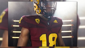 ASU shares photos of new football uniform featuring Arizona flag