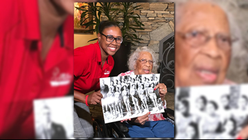 103-year-old former WSSU Women's basketball player gets surprise visit from team