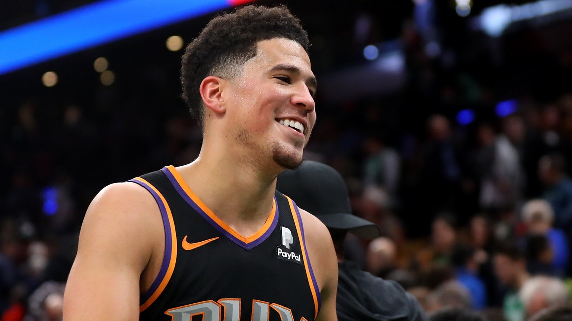 Devin Booker pledges $100K, raising money on his Twitch for coronavirus relief efforts