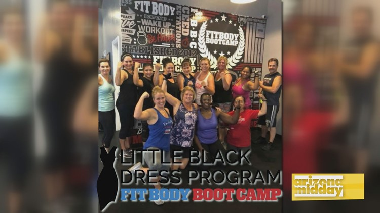 Win A Spot At The Little Black Dress Program At Fit Body Boot Camp