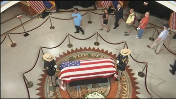 Schedule of memorials and ceremonies honoring John McCain in Washington, D.C.