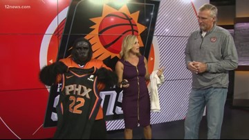 Suns legend Tom Chambers talks about the new jersey updates