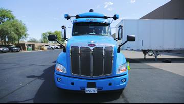 A look at Waymo's driverless semi-trucks