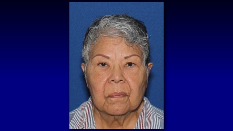 75 year old missing woman returned home safe police say