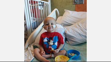 'He's fighting for his life:' East Valley toddler battling leukemia
