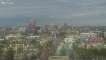 Rain to fall across Arizona Wednesday night