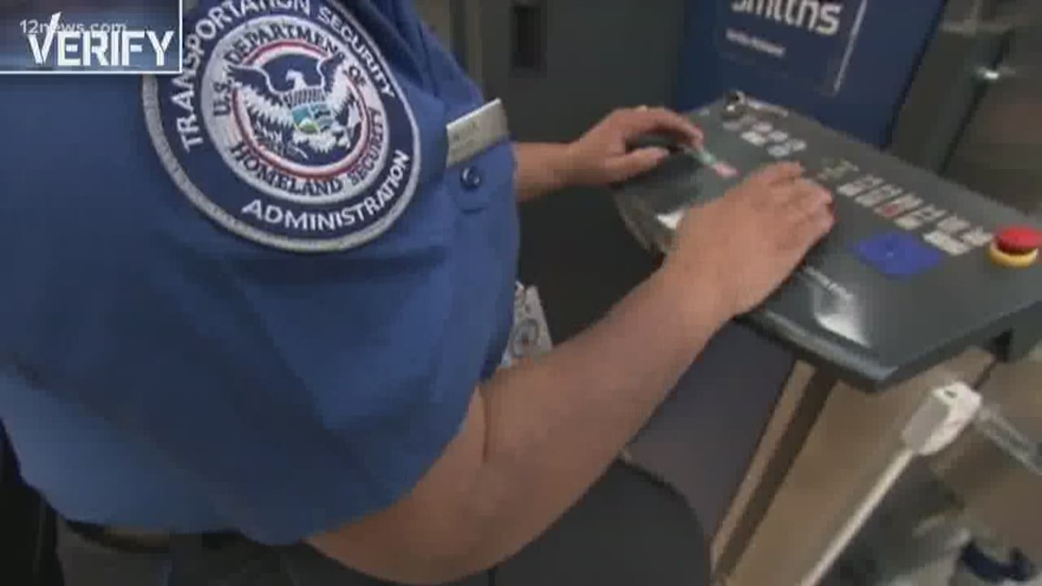 VERIFY: TSA agents will be fired if they strike to end the shutdown